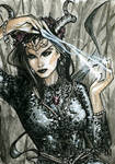 Spellcasters 3 Sketch Card - Craig Yeung 1