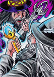 Spellcasters 3 Sketch Card - Cleber Souza Lima 1