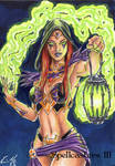 Spellcasters 3 Sketch Card - Eric McConnell 2