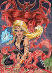 Spellcasters 3 Sketch Card - Eric McConnell 1