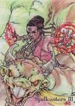 Spellcasters 3 Sketch Card - Nestor Celario Jr 2