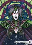 Spellcasters 3 Sketch Card - Danielle Ellison 1