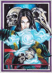 Spellcasters 3 Sketch Card -Achilleas Kokkinakis 3