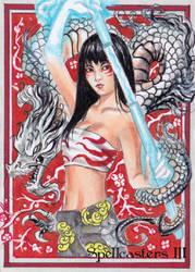 Spellcasters 3 Sketch Card -Achilleas Kokkinakis 2