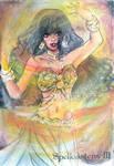 Spellcasters 3 Sketch Card - Kirstine Danica Lim 3