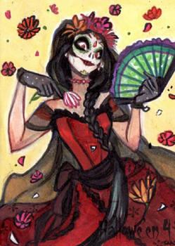 Hallowe'en 4 Sketch Card - Natasa Kourti 2