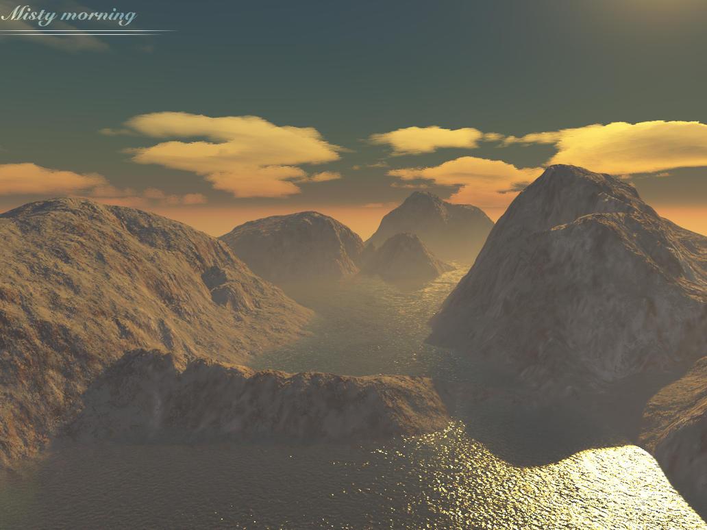 misty morning by HaVoC5