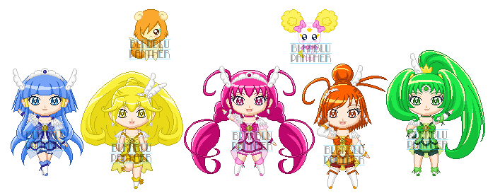 Chibip Smile Pretty Cure By Sugarrosedoll On Deviantart