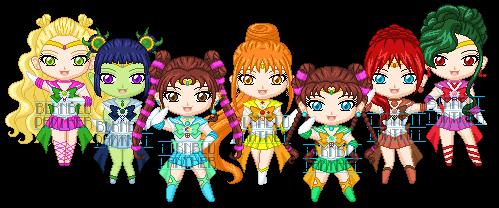 ChibiP: Sailor Moon Sonic