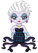 ChibiP: Ursula by blknblupanther