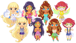 ChibiP: Winx Next Gen by SugarRoseDoll