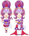 ChibiP: Cure Delight + Elegant Mode by SugarRoseDoll