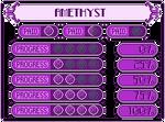 GemArt Progress Bars: Amethyst