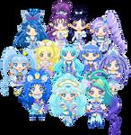ChibiP: Precure Blue Squad