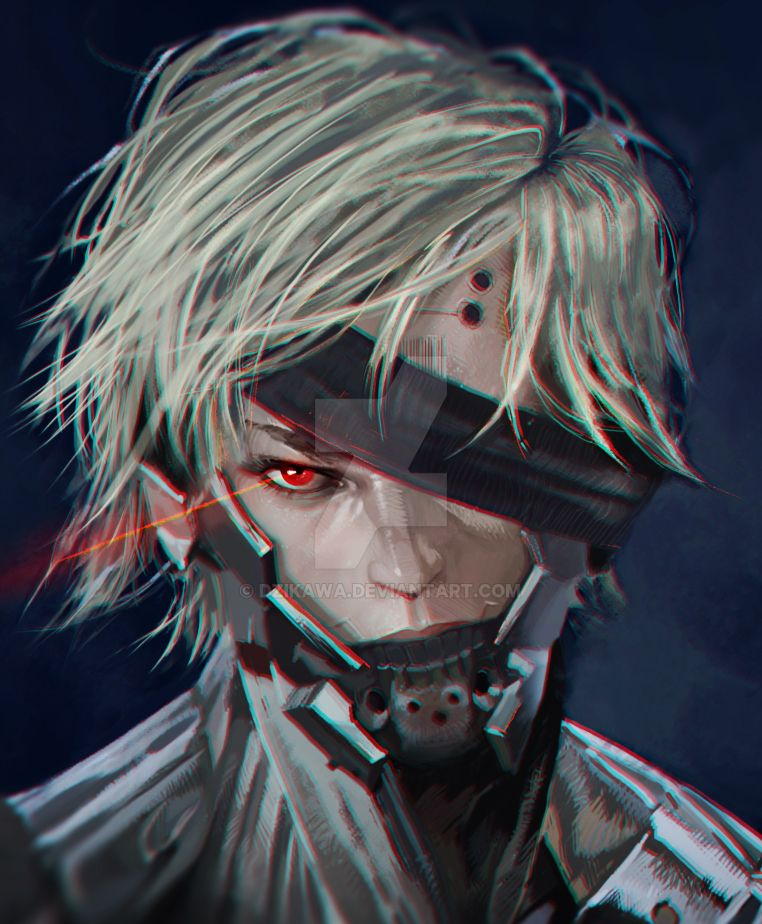 Metal Gear Rising Wallpaper: Raiden From Metal Gear Rising: Revengeance By DziKawa On