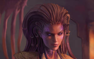 Sarah Kerrigan from Starcraft by DziKawa