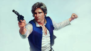Han Solo from Star Wars by DziKawa