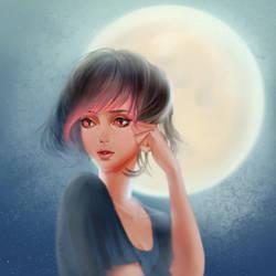 Moon by DziKawa