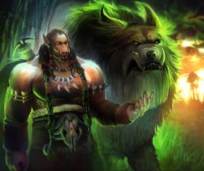 Durotan from Warcraft by Dzikawa