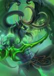 Illidan Stormrage from World of Warcraft