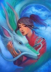 Spirited Away by Dzikawa