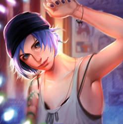 Chloe Price from Life is Strange by Dzikawa