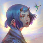 Hummingbird by Dzikawa