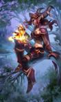 Alexstrasza from World of Warcraft by Dzikawa