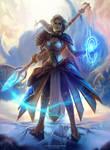 Jaina Proudmoore from World of Warcraft by Dzikawa