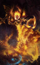 Ragnaros from World of Warcraft by DziKawa