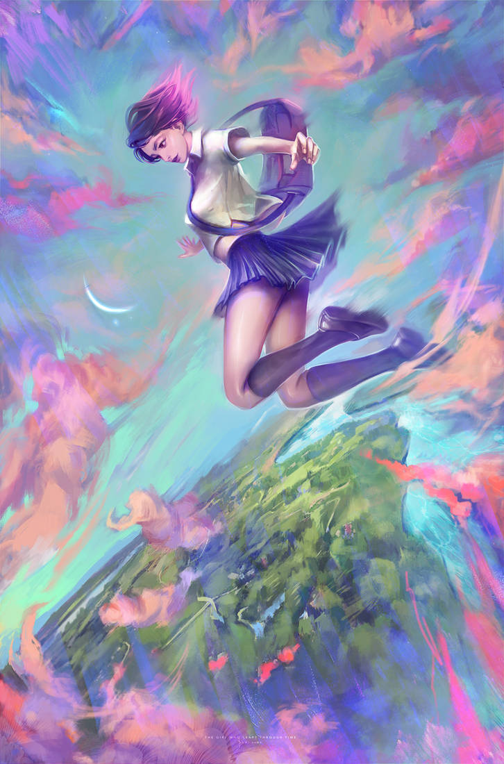 The Girl Who Leapt Through Time by DziKawa