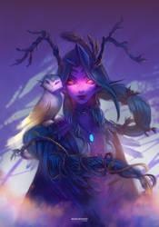 Druid Melissa Moonlight by Dzikawa