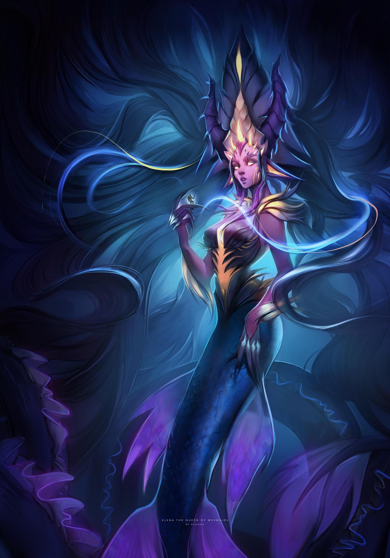 Elena the Queen of Mermaids