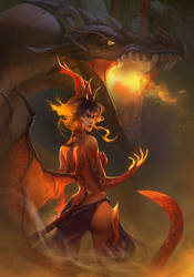 Dragon Princess by Dzikawa