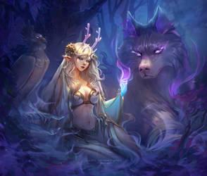 Lunaria the Forest Spirit