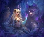 Lunaria the Forest Spirit by Dzikawa