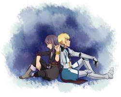 Tales of Vesperia - Yuri + Flynn