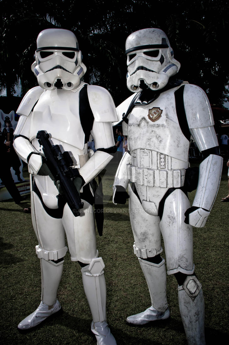 Stormtroopers by genecor