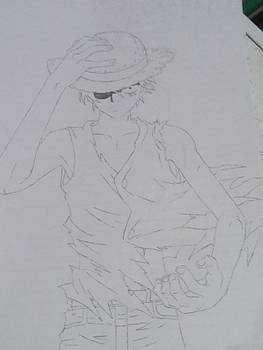 Monkey D Luffy from One Piece