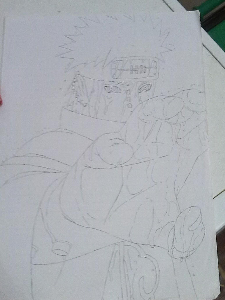 Pain from Naruto Shippuden by AnimeManga4Evermore