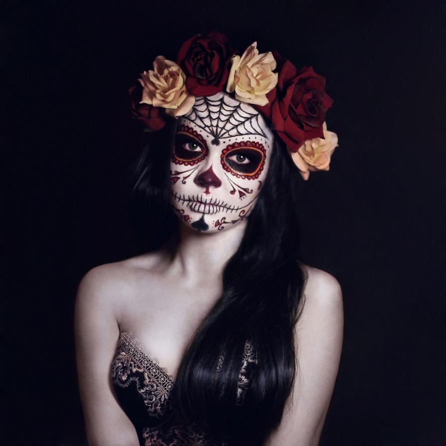 Death mask by Hewi-ID