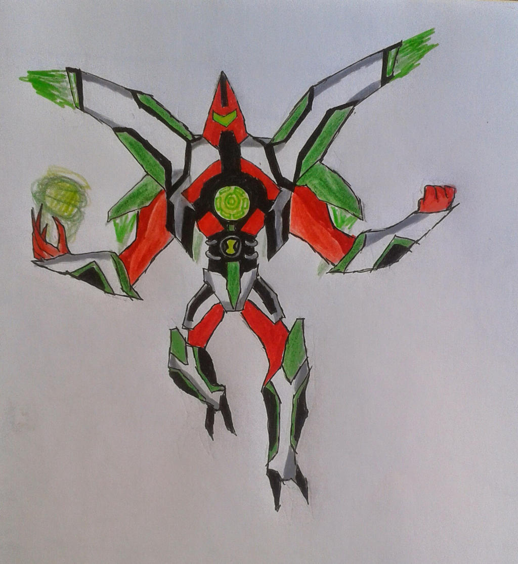 Ben 10000 Ultimate Alien: Air Slice Ben 10000 By Kamran10000 On DeviantArt