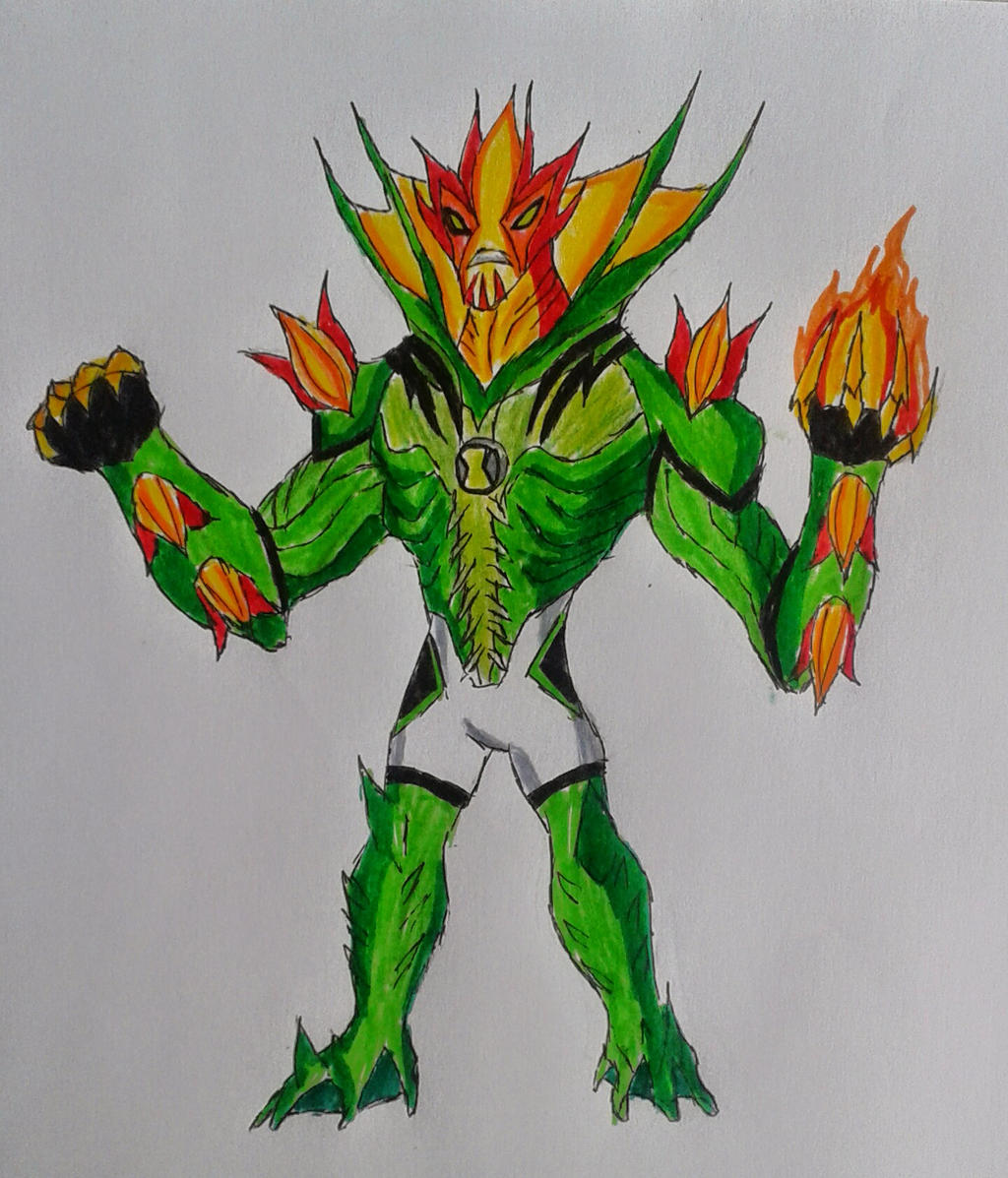Ben 10000 Ultimate Alien: Swampfire Ben 10000 By Kamran10000 On DeviantArt