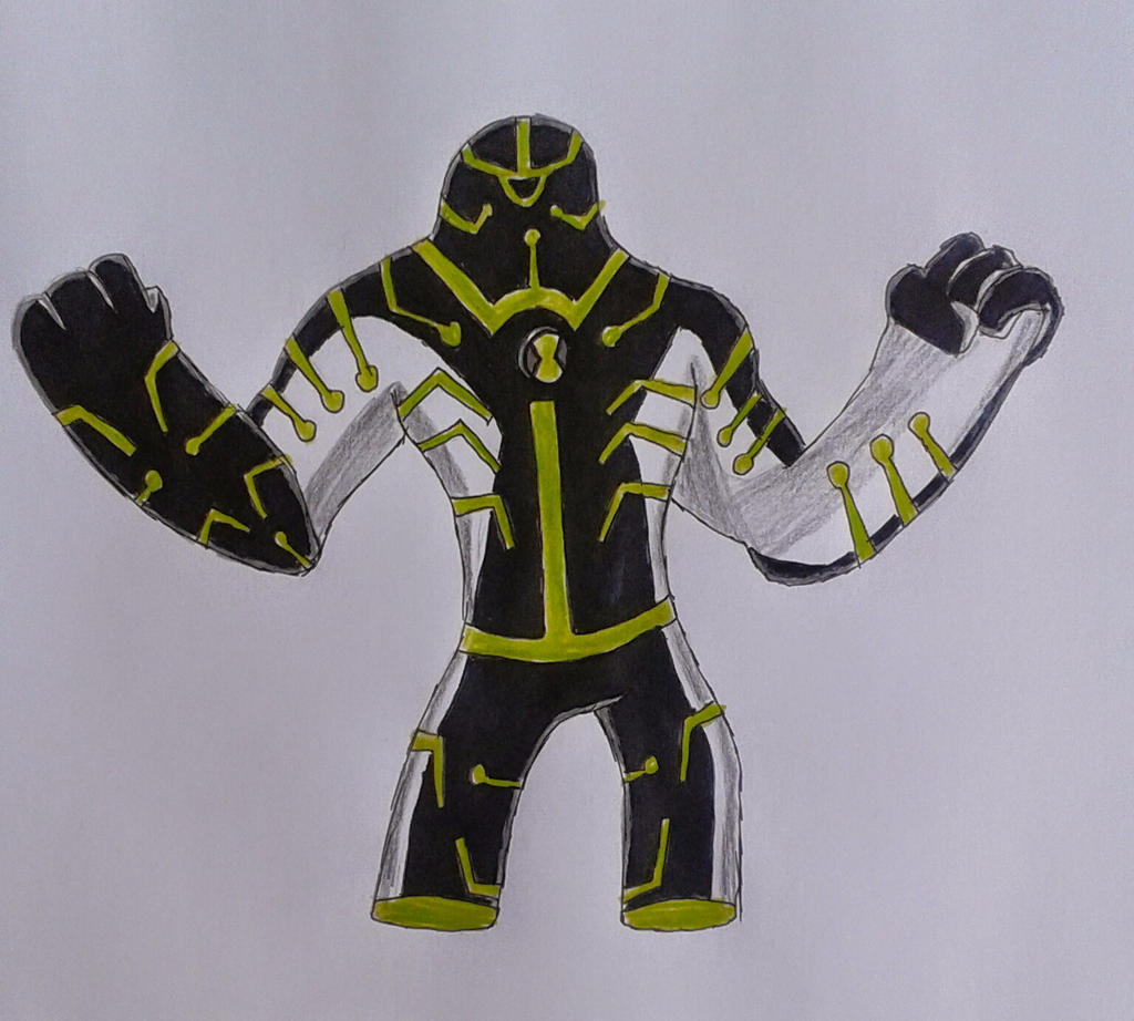Ben 10000 Ultimate Alien: Upgrade Ben 10000 By Kamran10000 On DeviantArt