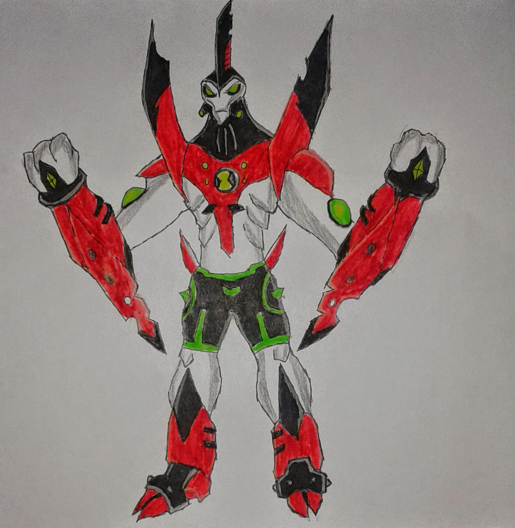Ben 10000 Ultimate Alien: Waybig Ben 10000 By Kamran10000 On DeviantArt