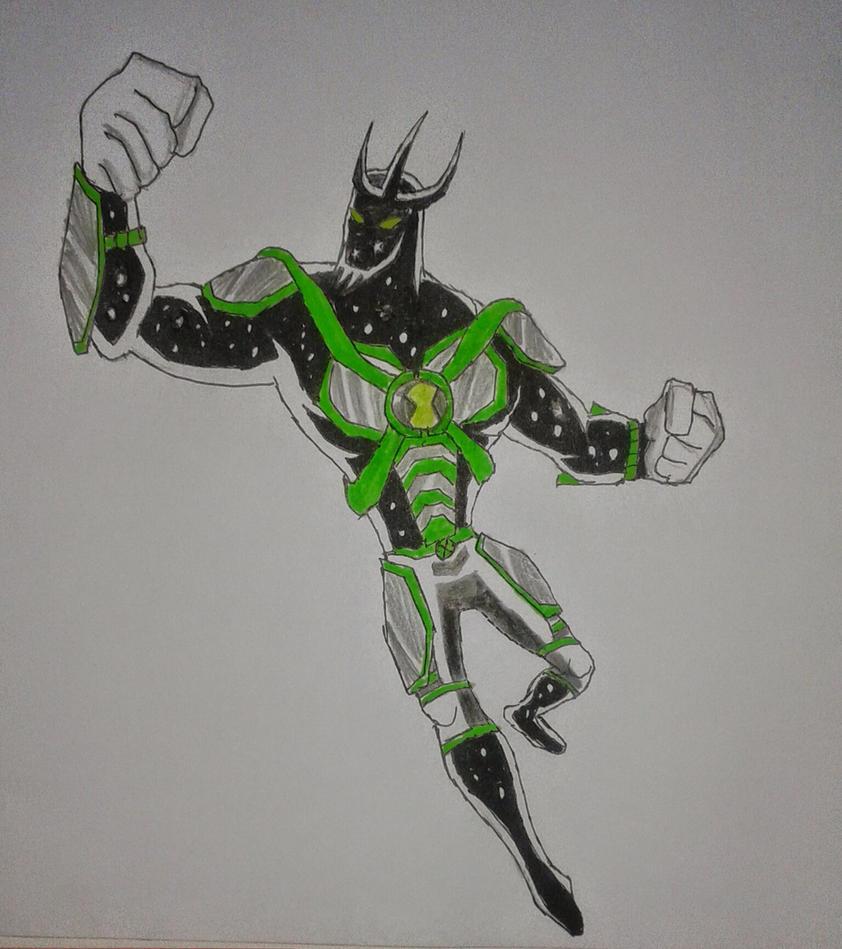 Alien X Coloring Pages