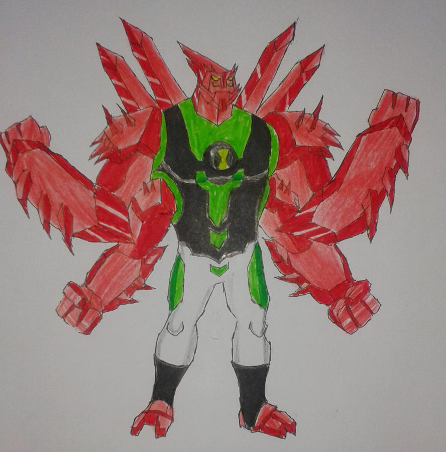 Ben 10000 Ultimate Alien: Diamondarms Fusion Ben 10000 By Kamran10000 On DeviantArt