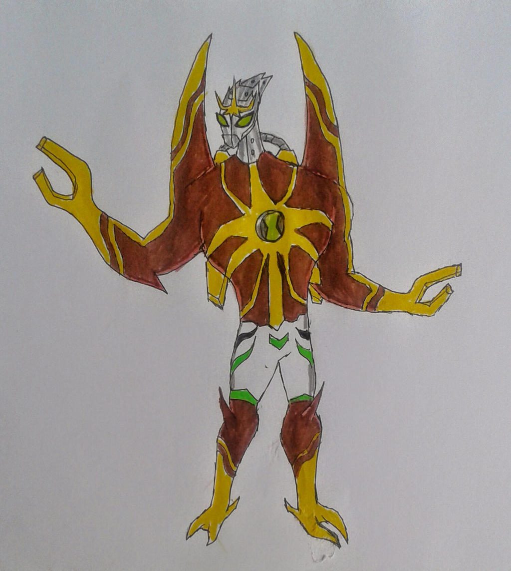 Ben 10000 Ultimate Alien: Lodestar Ben 10000 By Kamran10000 On DeviantArt