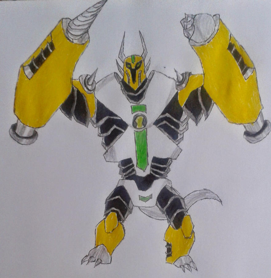 Ben 10000 Ultimate Alien: Armodrillo Ben 10000 By Kamran10000 On DeviantArt