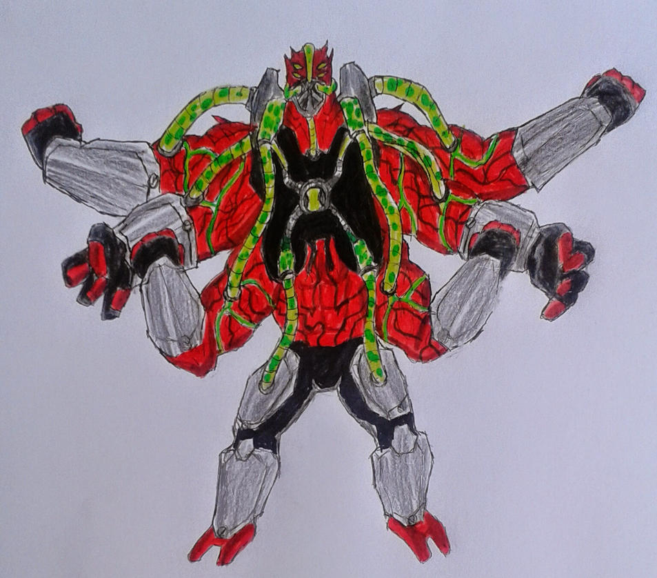 Ben 10000 Ultimate Alien: Ultimate Fourarms Ben 10000 By Kamran10000 On DeviantArt